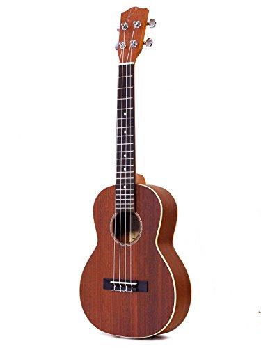 Mahimahi ukulele tenore con piano armonico in mogano massello