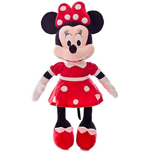 Peluche Mickey Minnie Doll Mickey Mouse Regalo Regalo De Navidad 30 / 40cm (Rojo,40cm)