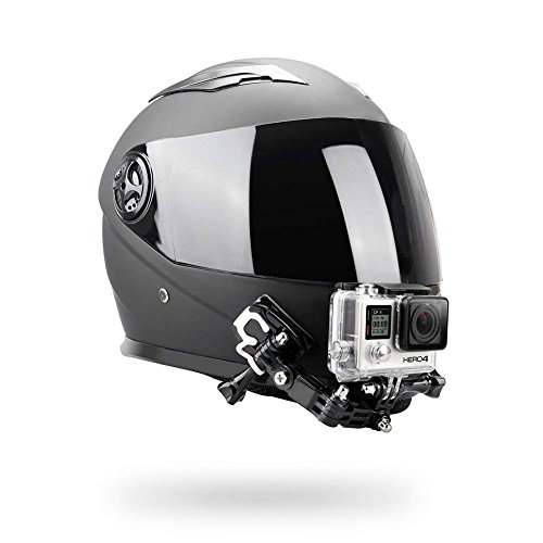 Montaje para casco de moto