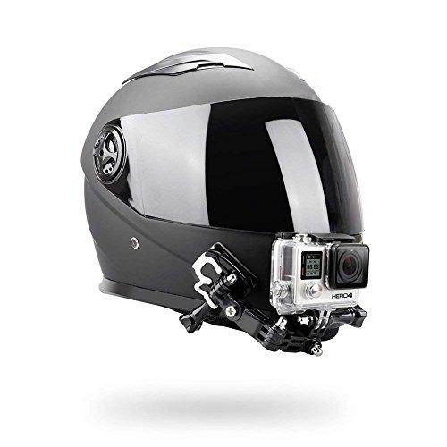 O RLY Kit de Montaje para Casco Helmet Bike Motorcycle MotorBike para GoPro Hero 4 5 6 CAM SJCAM/Apeman/Campark/akaso Cámaras deportivas y accesorios