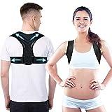 iyibabao Haltungskorrektur für Männer und Frauen,Rücken Geradehalter,Verstellbare Haltungskorrektur Rückenstütze,wirksam bei Nacken, Rücken und Schulterschmerzen (Unisex)