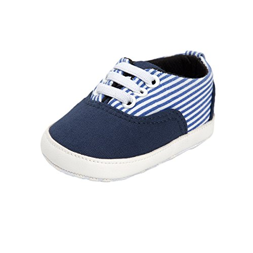 Baby Boys Blue Canvas Shoes