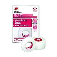 【お徳用 24 セット】 3M トランスポア サージカルテープ プラスティック(半透明) 25mm×9.1m 1巻入 1527EP-1×24セット