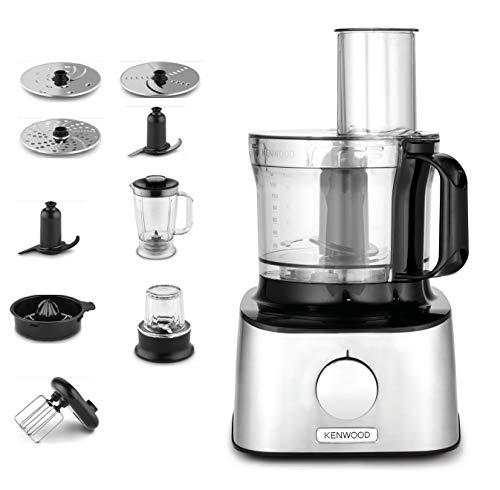 Kenwood Electronics fdm303ss 800W 2.1L Noir–Robot de cuisine (2,1l, noir, rotatif, 1,2l, Cour, mix, de plastique)