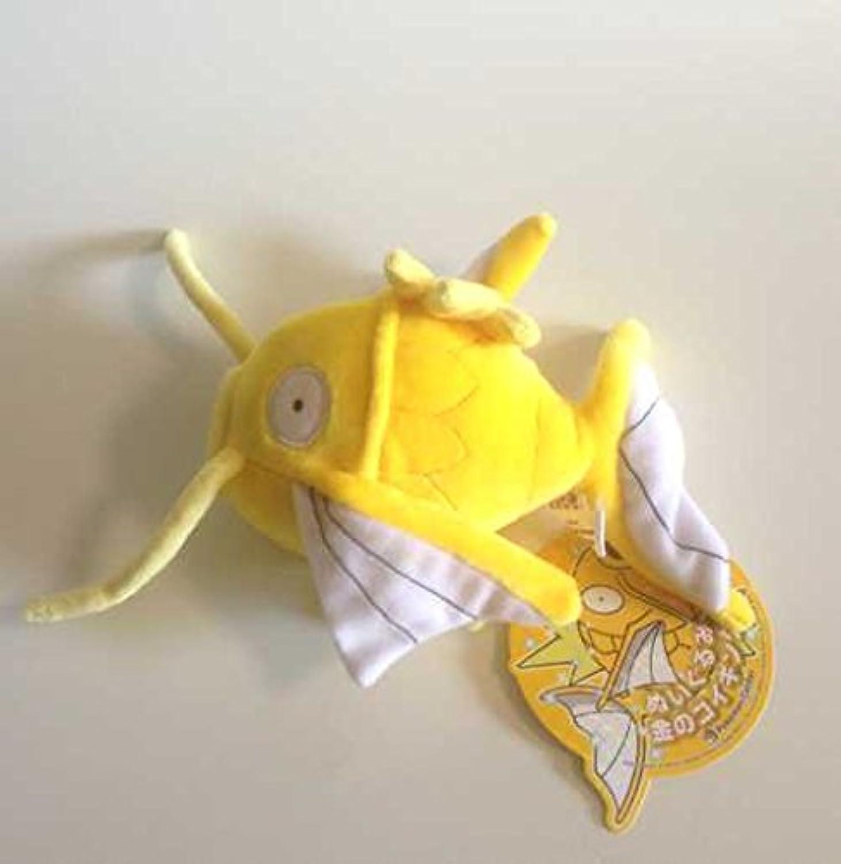 Pokemon Center Magikarp von Original gestopft Gold