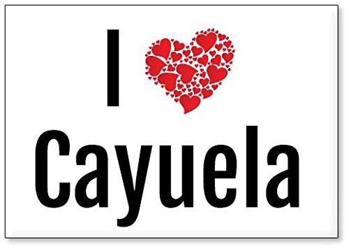 Mundus Souvenirs - Amo Cayuela, Imán para Nevera (diseño 2)