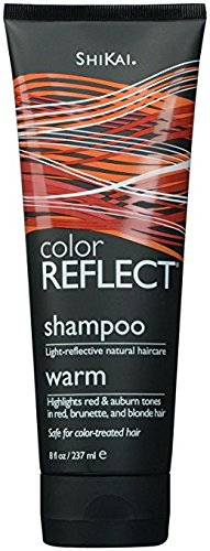 Shikai Color Reflect Warm Shampoo, 8 Oz