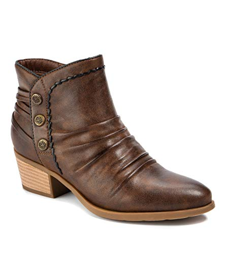 BareTraps Bethany Women's Boots Brush Brown Size 9.5 M (BT26892)