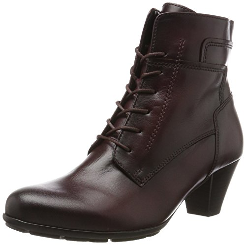 Gabor Shoes Damen Basic Stiefel, Rot (25 Wine (Effekt), 37 EU