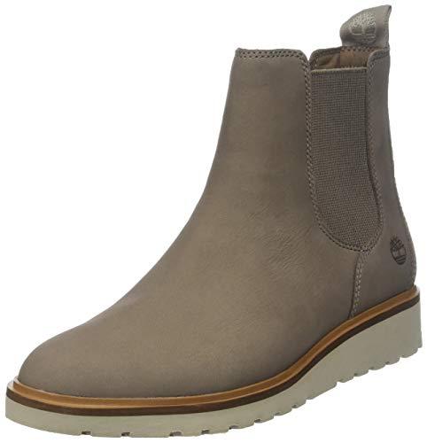 Timberland Damen Ellis Street Chelsea Boots, Grau (Taupe Grey Nubuck 929), 40 EU