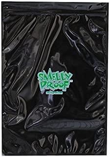 Smelly Proof Original No Smell Baggies Reusable BLACK Bag, 12