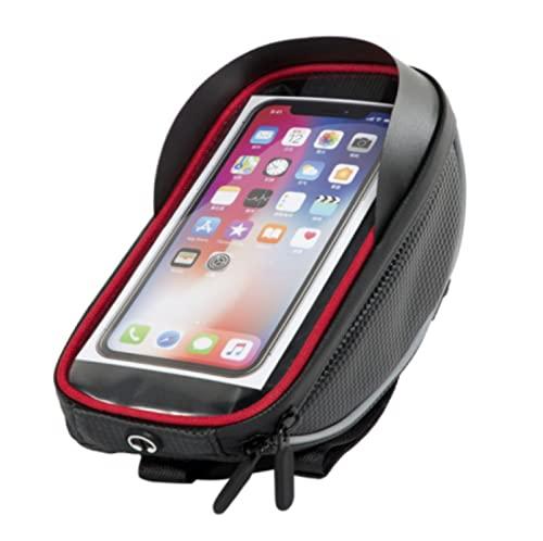 Bolsa De Manillar De Bicicleta Multifunción, Correa Reflectante, Pantalla Táctil, Bolsa De Carcasa Rígida, Apta para iPhone 12 13 XS Pro MAX