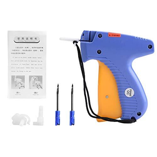 Clothes Tagging Gun Plastic Price Label Tagging Gun Commercial Tagger for Clothes Garment Shop with Steel Needle