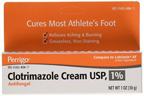 Clotrimazole Generic Lotrimin Anti-Fungal Cream USP, 1 oz