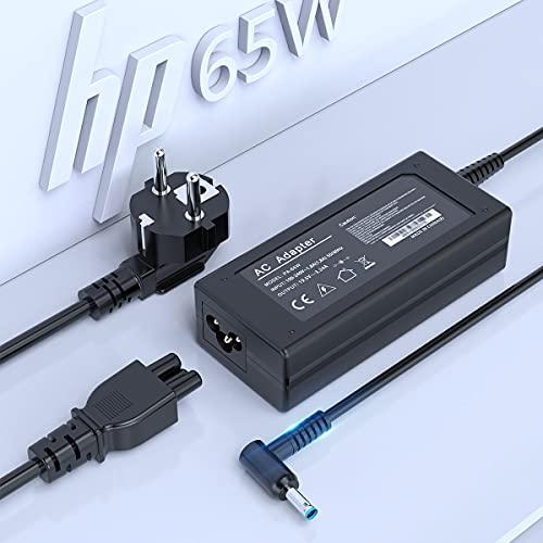 65W 45W Cargador HP portatil Adaptador CA para HP Smart Blue Tip,...
