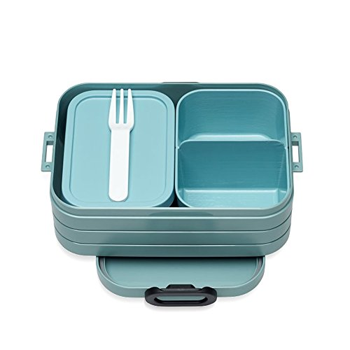 Mepal Nordic Green bento-Lunchbox-take-a-Break-midi, TPE/pp/abs, 0 mm