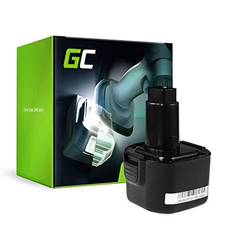 GC® (2Ah 9.6V Ni-MH celdas) A9251 Batería para DeWalt/Black&Decker de Herramienta Eléctrica