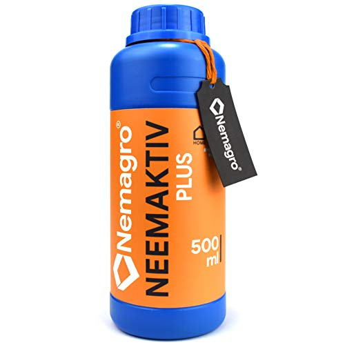 NEMAGRO® Neemaktiv - Neemöl/Niemöl mit Emulgator Rimulgan - 500ml - (Neem Öl, Neemöl für Pflanzen, oel, oil, nem öl, neem plus, neem extrakt, neemöl spray)