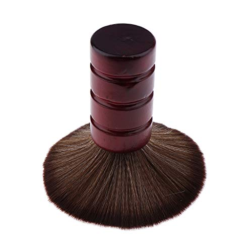 B Blesiya Balais à Cou Brosse à Cheveux à Poli Longue Poignée Nettoyage pour Nuque de Salon de Coiffure