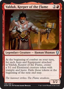 Valduk, Keeper of The Flame - Dominaria