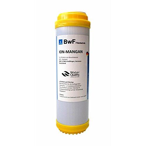 BWF Original ION-Mangan Anti Mangan (Braunfärbung) Patrone Filterkartusche Wasserfilter, Filter, Wasser, Fische NEU!