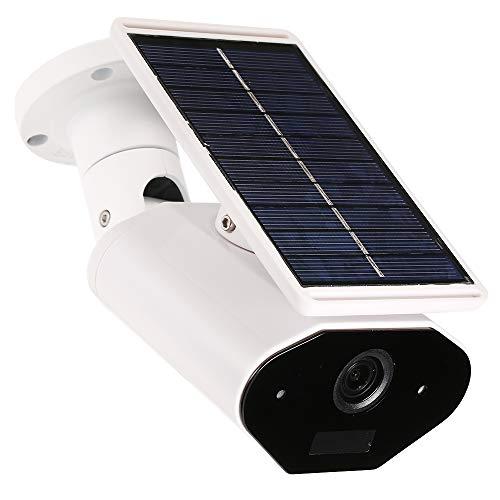 OWSOO Überwachungskamera Solar-Batterie 960P 1.3MP WiFi Wireless Wasserdichte Outdoor Solar-Batterie Leistungsaufnahme Unterstützung Zwei-Wege-Audio mit TF-Kartensteckplatz für Home Security