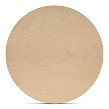 Wood Circles 18 inch 1/8 Inch Thick Birch Plywood Discs Pack of 1 Unfinished Wood Circles for Crafts Wood Rounds by Woodpeckers