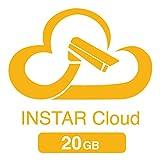 20GB Cloudspeicher für die INSTAR Cloud (2X 10GB für 1 Jahr / HTML5 Videowiedergabe/erweiterte Bewegungserkennung/Verwaltung von Alarmaufnahmen/Online NAS/NVR)
