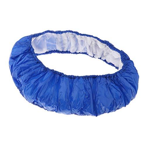 T TOOYFUL Coussin de Protection des Ressorts en PVC Robuste et Imperméable pour Trampoline 32-60 Pouces - 54 Pouces