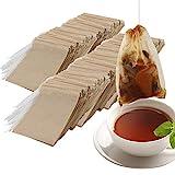 Nepak 600pcs bolsita de te de filtro bolsas de papel papel bolsas de té vacío bolsa de te de filtro de papel desechable(6 * 8cm)