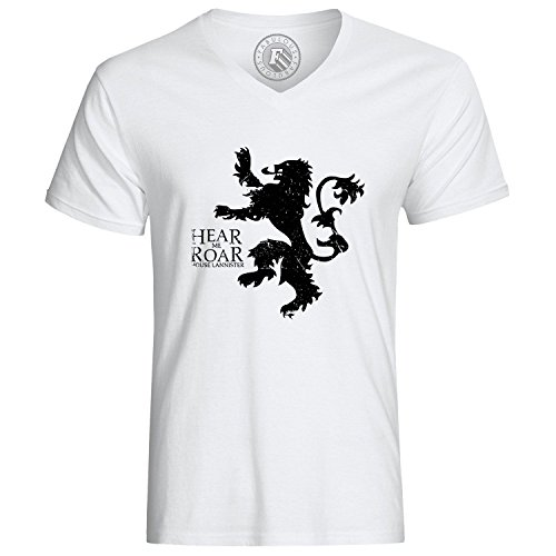 T-Shirt Game of Thrones House Lannister Hear Me Roar Black