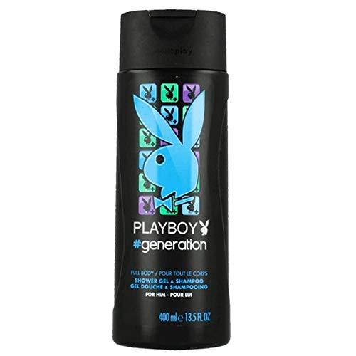 PLAYBOY GEL 400ML GENERATION MALE