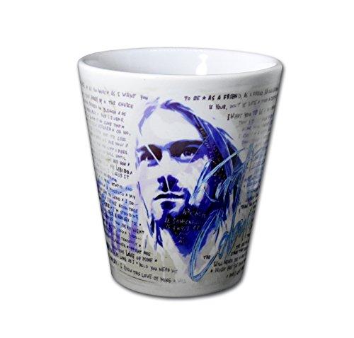 Cobian Tasse - Club 27 Serie Handarbeit Designer Tasse aus brillanten Porzellan Unikat - Tasse, Becher, Kaffeetasse, Teetasse Keramik Tasse, 330ml, Geschenk für Freunde (Tasse Latte)