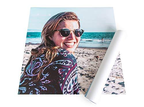 fotokasten Poster 50x70 – XXL Poster mit eigenem Bild gestalten - Hochwertiges Premium Papier – Ihr Foto als Poster drucken Lassen