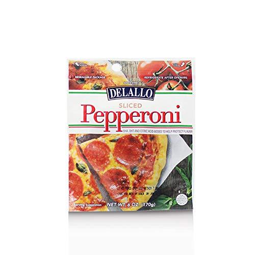 DeLallo Sliced Pepperoni 6 oz. (pack of 3)