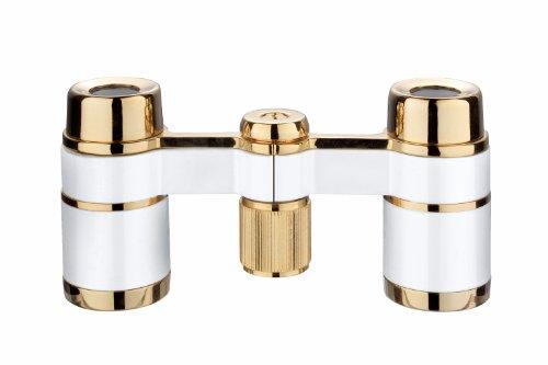 Eschenbach Optik Fernglas la scala 3x18 Opernglas, klein, weiß
