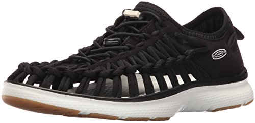 KEEN Damen Uneek O2 Sneaker, Schwarz (Black/Yellow Harvest Gold 0), 39 EU