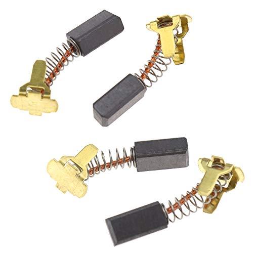 ENET 4pcs spazzole in carbonio smerigliatrice 999-054 parti di ricambio compatibili con Hitachi G18DL G18DMR G18DSL G14DL G14DMR G14DSL