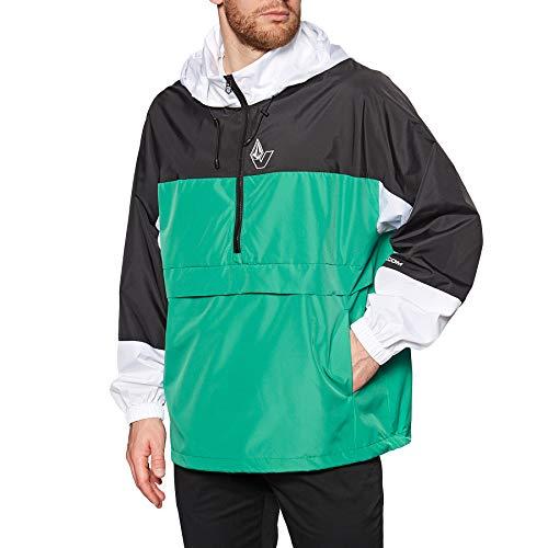 Volcom Boogie Breaker Hooded Giacca, Verde Synergy, XL Uomo