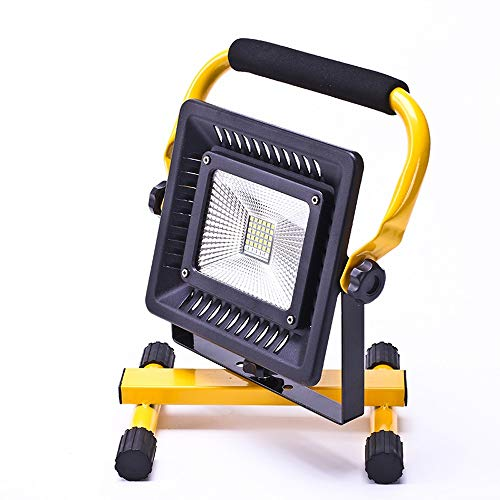 PULLEY Luz de trabajo LED recargable portátil luz de inundación luz de emergencia luces de seguridad Baterías para iluminación al aire libre/camping/senderismo/pesca/reparación del coche