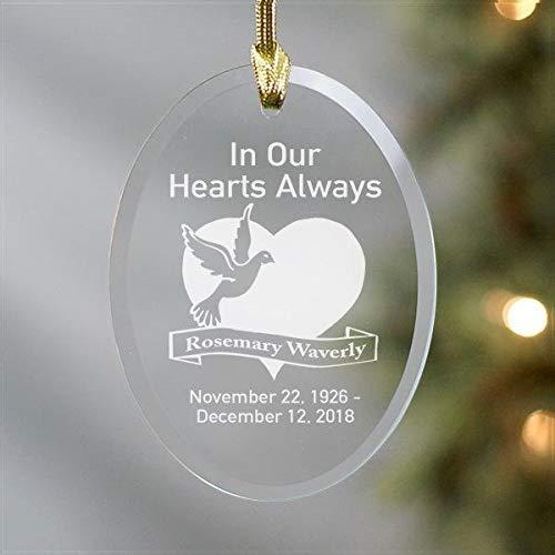 None-brands - Ornamento para árbol de Navidad, diseño de Covid 2020, diseño de corazones