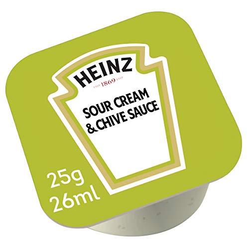 Caja de 100 tarrinas de Heinz Salsa Agria 25 g