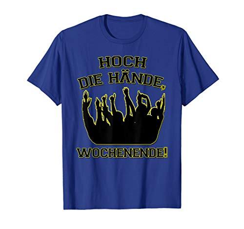 Herren Hoch Die Hände Wochenende T-Shirt