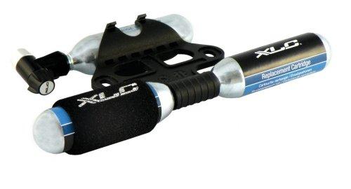 XLC Unisex– Erwachsene Luftpumpe CO2-Patronenpumpe PU-M03, Schwarz, One Size