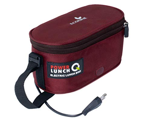 Ecoline Q4, Electric Lunch Box,Capacity 1400ml, Maroon