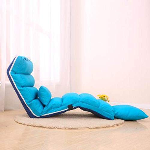Stoel LKU Luie sofa enkele opvouwbare lunchpauze vrijetijdsstoel woonkamer slaapbank balkon vrije tijd, 2m lang 55cm breed
