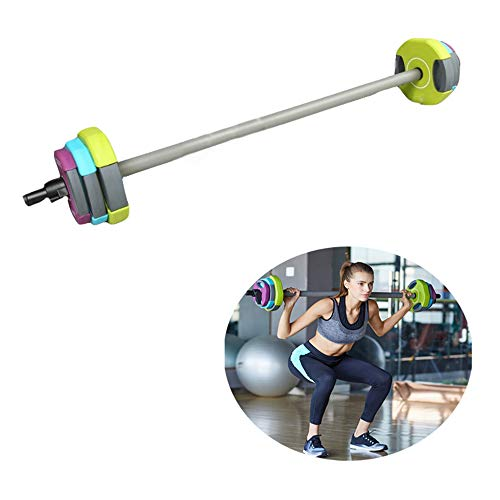 Adjustable Barbell Set, TPU Material 20Kg Weights Set, Lifting Full Body Workout Fitness Exercise, for Home Gym