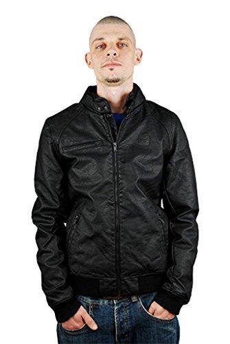 K1X Road hog PU Leather Jacket Noir