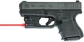 Viridian Reactor 5 Gen 1 - Red Laser Sight Pistol Handgun, Tactical Red Laser, ECR Instant On Technology Holster