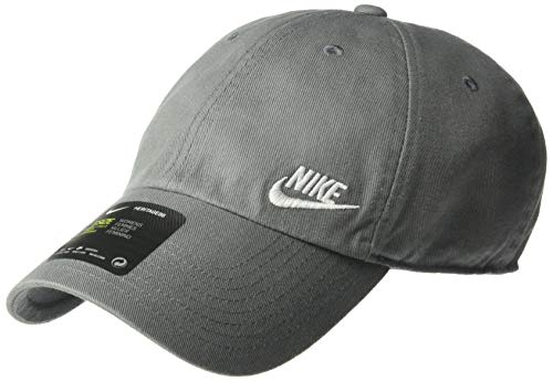 Nike Damen Women's H86 Cap Futura Classic Mütze Cool Grey/Weiß Einheitsgröße